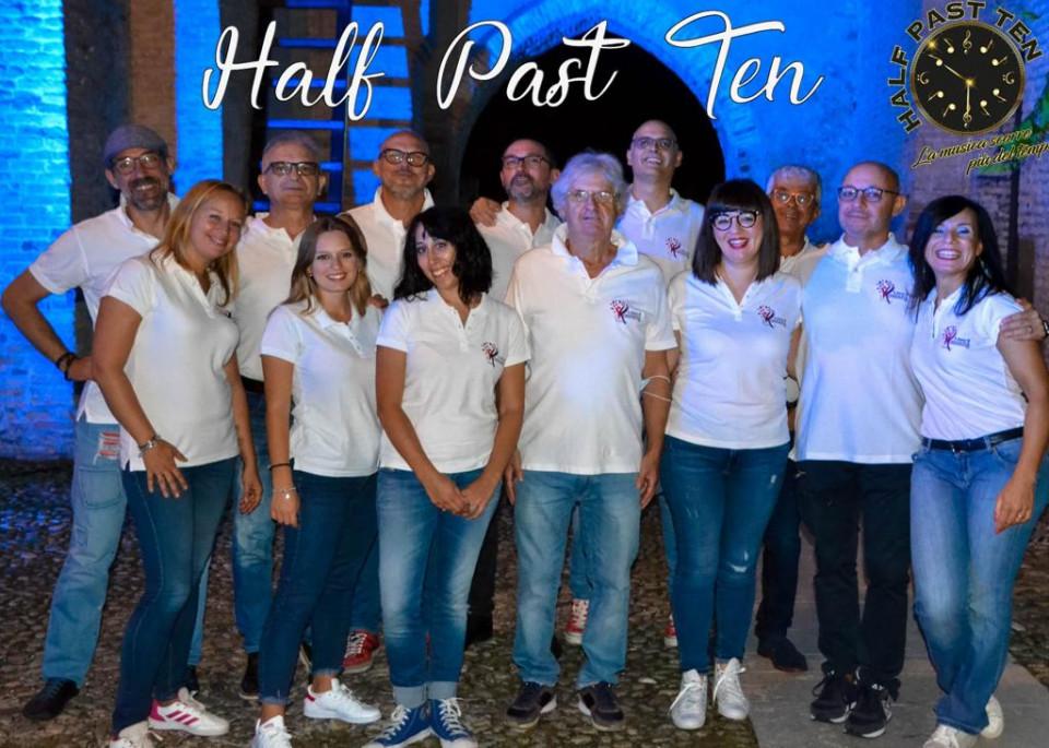 Tornano sul palco gli Half Past Ten per sostenere la ricerca sui tumori cerebrali