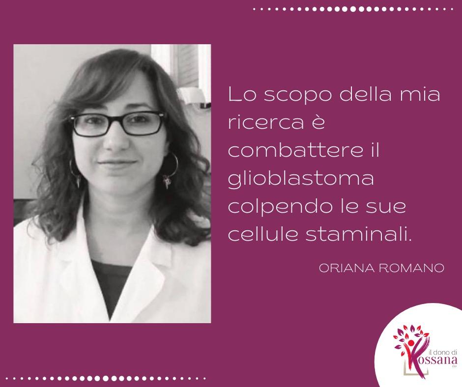 La ricerca non si ferma: il punto sul progetto di Oriana Romano