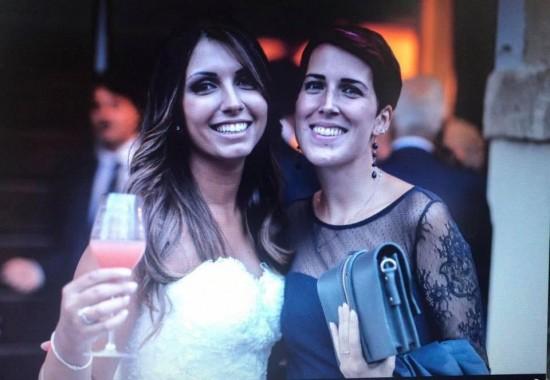 Rossana e Isabella (Isa) al matrimonio di Isa nel settembre 2016