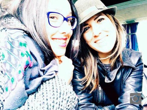 Germana e Rossana a Londra nel 2016