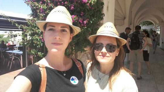 Rossana e la mamma, Capri giugno 2016