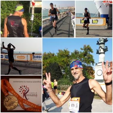 55.000 passi per Rossana: la Venice Marathon di  Andrea